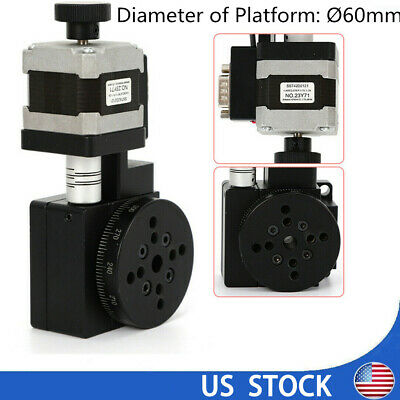 60mm Electric Precision Optical Rotating Platform Motorized Rotation Stage Sale