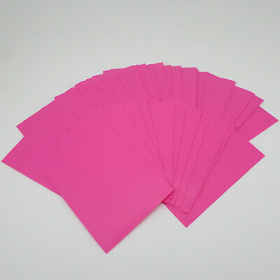 60 Docsmagic.de Mat Pink Card Sleeves Small Size 62 x 89 - Yu-Gi-Oh! Cardfight -