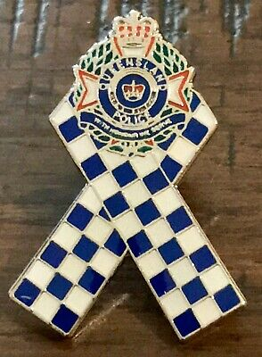 National Police Remembrance Day Qps Badge Pin