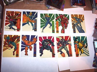 1994 Marvel Universe Series 5 Suspended Animation Insert 10 Set Card Wolverine!