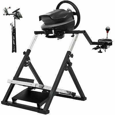 """X"" Frame Racing Simulator Steering Wheel Stand For Logitech G29 G920 T300RS"