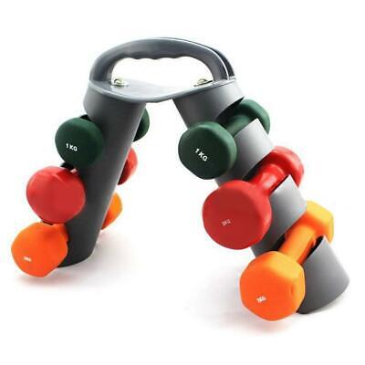 Dumbbell Rack Foldable Three layer Dumbbells Holder Stand Home Weight Stand