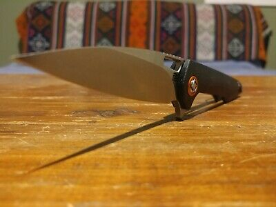 Artisan Knives Archaeo Black Contoured G10 Linerlock Knife