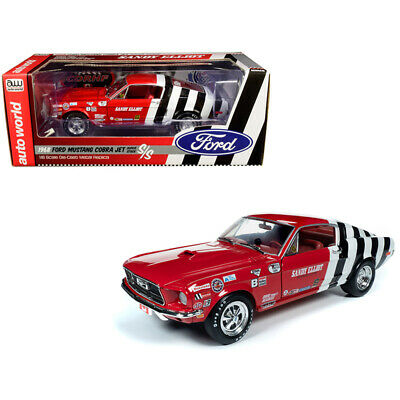 1968 Ford Mustang Cobra Jet Super Stock Sandy Elliot Performance Centre 1/18 Die