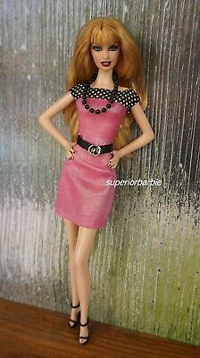 FASHIONISTAS Polka Dot Career Dress and Accessories