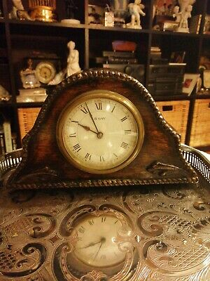 Antique 8 Day French Mantel Clock in good working order  platform escapement