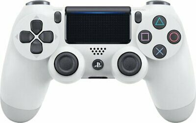 Official Sony PS4 Dualshock 4 Wireless Controller White Latest Edition CUH-ZCT2U