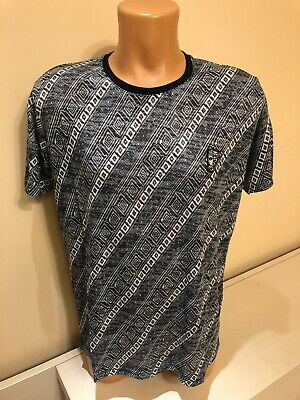 VERSACE 650$ New Slimfit Barocco Homme Print Tshirt In Multicolor Cotton