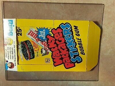 1980 Wacky Packages Stickers Empty Box Topps 3Rd Series *Super Nice Condition*--
