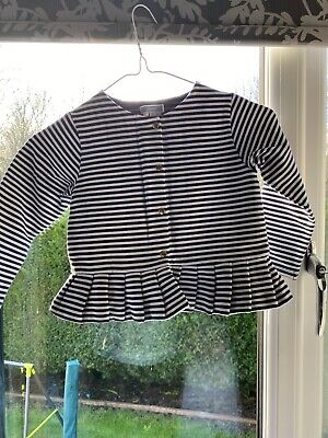 Girls Top (jaccadi) Age 4 Years With Blue Leggins