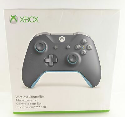 Microsoft WL3-00105 Wireless Controller for Xbox One and Windows 10 - Gray/Blue
