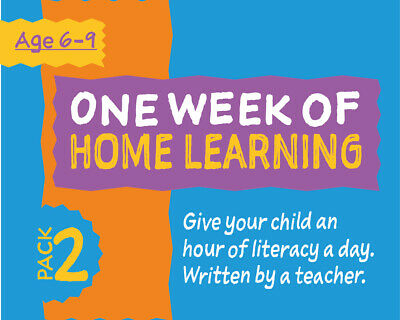 One Week Of Literacy Work For Home Learning (6-9 years) Pack 2