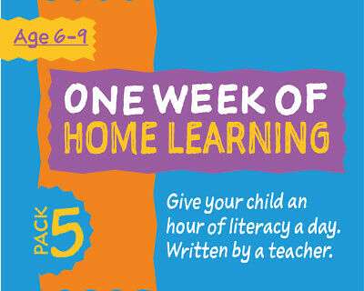 One Week Of Literacy Work For Home Learning (6-9 years) Pack 5