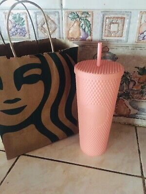 starbucks spring collection 2020 mattie pink tumbler studded