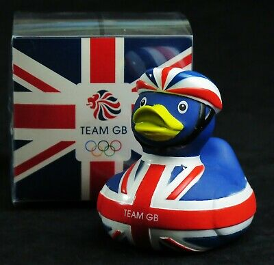 Team GB Cycling Rubber Duck London 2012 Olympics cyclist