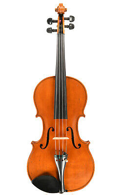 Interesting and fine antique English violin by Jeffery James Gilbert, 1886