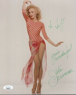 JULIE NEWMAR HAND SIGNED 8x10 PHOTO     SEXIEST POSE EVER     TO JEFF    JSA COA