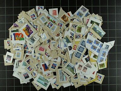 Weeda Canada Uncancelled postage, unused on and off paper Face Value $200.14 FV