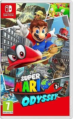 Super Mario Odyssey (Nintendo Switch, 2017) Brand New - Region Free
