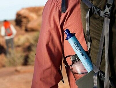 Lifestraw LSPHF017 Portable Personal Emergency Water Filter Purifier