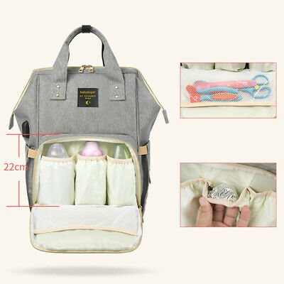 Mommy Baby Diaper Bag Large Capacity Backpack Infant Kid Nappy Tote Messager Bag