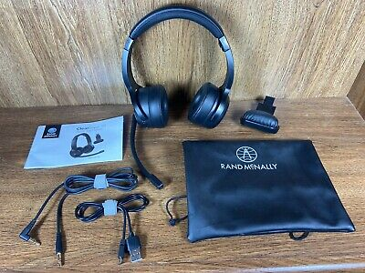 Rand McNally ClearDryve 50 2-in-1 Bluetooth Wireless Professional Headphones