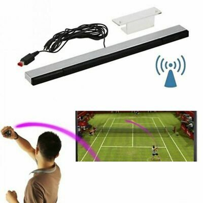 IR Wired Infrared Sensor Bar Wired Receiver For Wii or Wii U Includes Stand