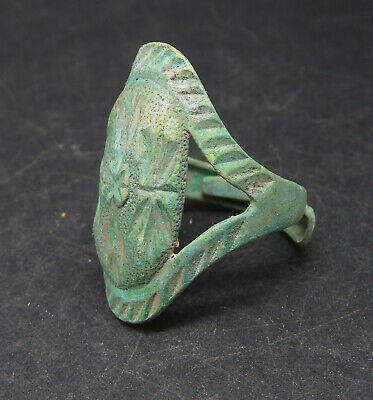 Rare Bronze Viking Era Warriors Rings Detector Finds