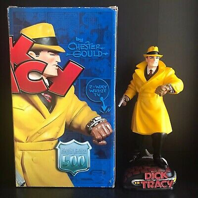 Dick Tracy Statue by Electric Tiki