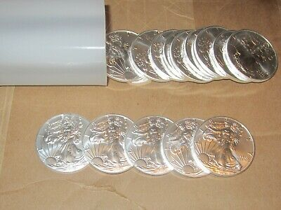 Lot of 5, 2020 American Eagle Coins 1 oz .999 Fine Silver-IN STOCK,READY TO SHIP