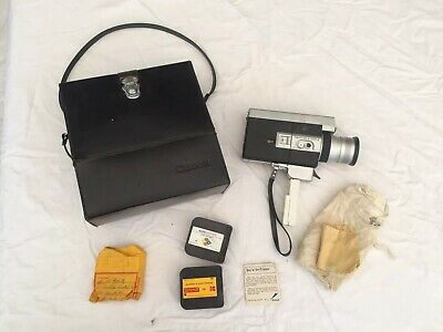 Canon auto zoom 518 super8 8mm movie film camera made in japan w Batteries