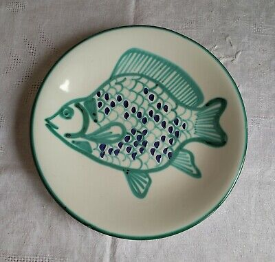 Assiette Decor Poisson Robert Picault - Vallauris