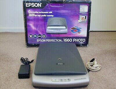 Epson Perfection 1660 PHOTO Flatbed Scanner