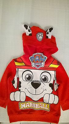 Paw Patrol / Hoodie / Boys / Sizes 2 And 3.