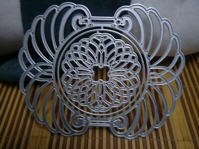 Craft metal cutting dies cut die mold Frame twig butterfly Scrapbook paper