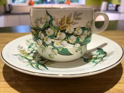 Brexton Picnic Hamper - Replacement Lily of the Valley Design Tea Cup & Saucer