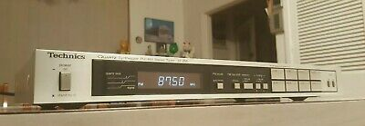 Vintage Technics Quartz Synthesizer Stereo Tuner/Fm/Am/Made In Japan