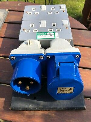 32amp Input Mains Distro Board 32 Output 13amp