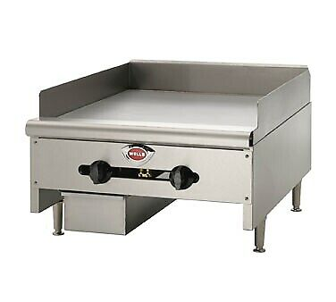 """Wells HDG-3630G 36"""" Countertop Gas Griddle"""