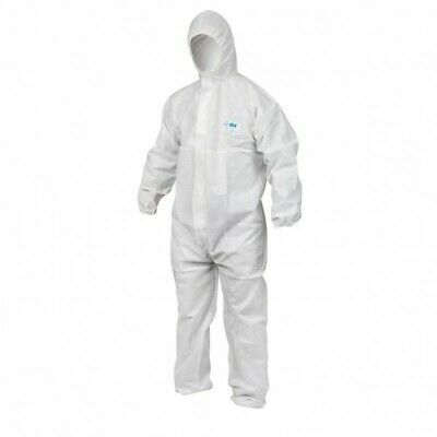 OX Type 5/6 Disposable Coverall White (Various Sizes) Safety Suit