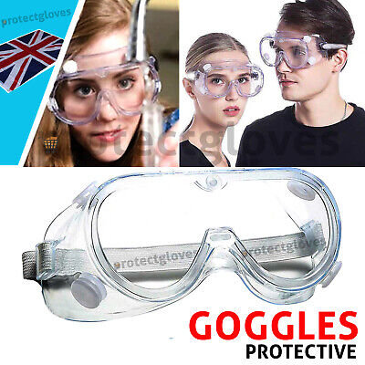 Safety Goggles Anti Fog Safety Glasses For Lab Work Dust Proof Eyes Protector