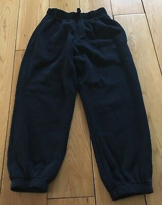 Unisex M&S Navy Blue Joggers Size 5 Years