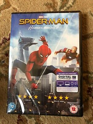 Spider-Man - Homecoming (DVD, 2017) New and Sealed