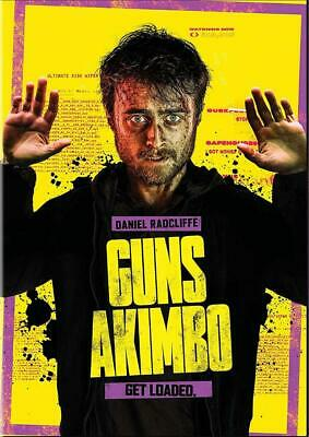 Guns Akimbo (DVD 2020) Preorder for 4/28-Action/Comedy-Stars Daniel Radcliffe