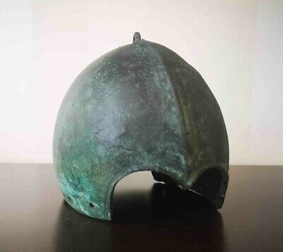 A Scythian bronze helmet, 7th-5th century B.C.