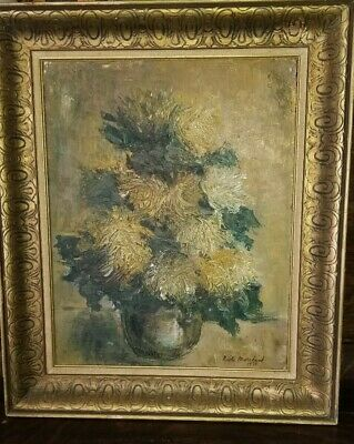 Vintage Canadian Painting Quebec Painting Still Life Signed