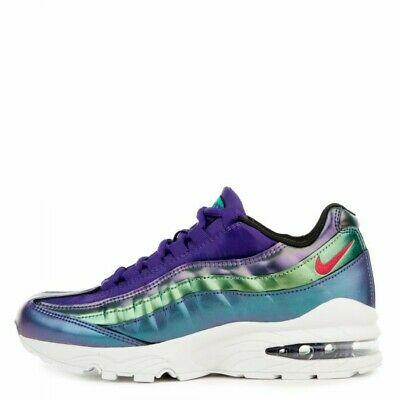 New Nike Air Max 95 SE Court Purple Girls Kids Sz 3Y Sneakers Shoes A09211-500