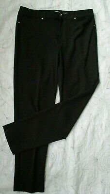 Charter Club Black Stretch Windham Skinny Womens Pants Size 16