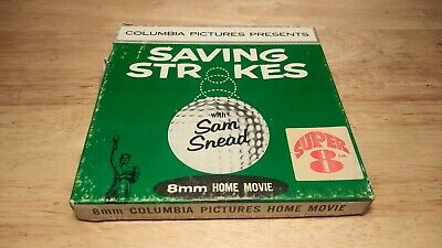 Vintage Columbia Pictures Super 8 Saving Strokes with Sam Snead 8mm Film