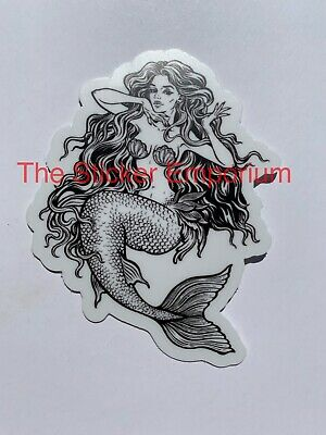 "Mermaid  *I404* 5x7/"" sticker decal cartoon sea boat captain ocean beach summer"